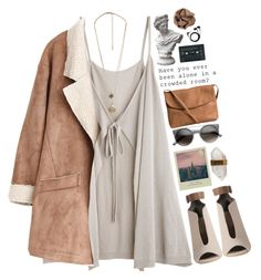 """""""You're dripping like a saturated sunrise."""" by grouchyoliver ❤ liked on Polyvore featuring Better Late Than Never, Pieces, Market, Forever 21, Brunello Cucinelli and Sennheiser"""