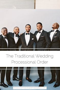 The Traditional Wedding Processional Order - Wedding Ceremony - Wedding Processional Order, Wedding Ceremony, Tea Party Wedding, Home Wedding, Bride Party Ideas, Wedding Ideas, Dance Floor Wedding, A Little Party, Wedding Etiquette