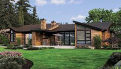 House Plan 2559-00171 - Contemporary Plan: 3,296 Square Feet, 3 Bedrooms, 2.5 Bathrooms