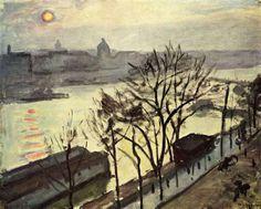 Albert Marquet - Les quais Paris