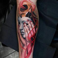 Artistic Shin Tattoo Ideas – Best Leg Tattoos For Men: Cool Lower, Upper, Side L… - Diy Best Tattoo ideas Diy Tattoo, Tattoo Blog, Get A Tattoo, Tattoo Ideas, Tattoo Art, Upper Leg Tattoos, Best Leg Tattoos, Latest Tattoos, Calf Tattoo Men