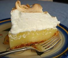 Microwave lemon meringue pie recipe.