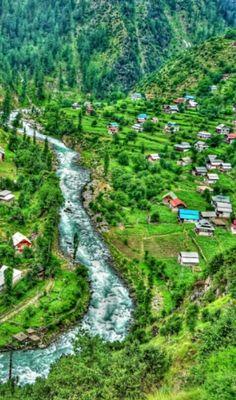 Jagran, Neelum Valley, Azad Kashmir, Pakistan.