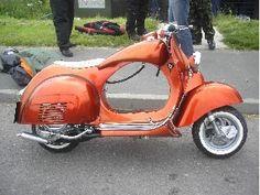 Chopperized! Fatboy Vespa