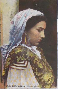 Jewish woman from Tunis.