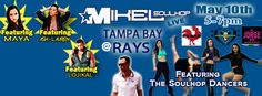 Mikel Soulhop live at the Tampa Bay Rays for the 3rd time