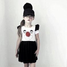 Quel Carrousel! by @Kenzie D in Mini Rodini AW14 Clown Dress