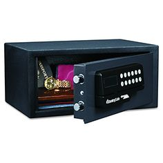 Sentry Safe H060ES Electronic Card Access Safe with 11.6L Capacity - Black