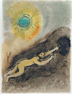 Sisyphus by Marc Chagall. 1975