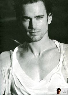 Matt Bomer - he's not even my type, but oh so pretty.  Well....I guess I'm not his type either!  ;)