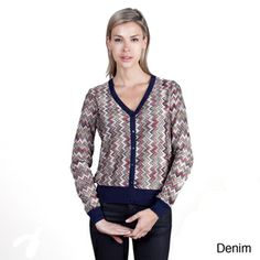 Missoni-style cardy