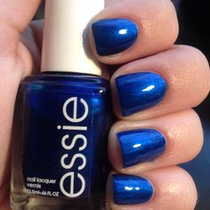 Essie - aruba blue  | See more at http://www.nailsss.com/colorful-nail-designs/3/