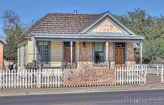 Wyatt Earp's house at First and Fremont Streets in Tombstone