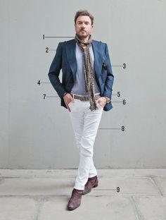 How Duran Duran's Simon Le Bon Got His Signature Look: The Daily Details: Blog : Details