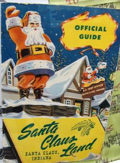 Holiday World used to be called Santa Claus Land... I remember going there as a child.