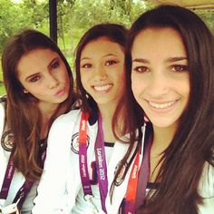 Twitter / Recent images by @Aly_Raisman, Aly, Kyla and McKayla!
