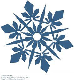 Snowflake Outline, Snowflake Images, Snowflakes, Diy Flowers, Paper Flowers, Make A Flake, Diy Teddy Bear, Wood Burning Patterns, Origami Easy