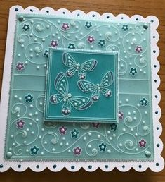 Get Your Art Out – The Gallery – Barbara Gray Blog Barbara Gray Blog, Butterfly Template, Butterfly Cards, Beautiful Birthday Cards, Parchment Cards, Button Art, Pop Up Cards, Digital Stamps, Vintage Dolls