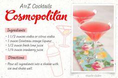 Cosmopolitan Drink Recipe