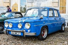 #Renault #R8 #Gordini au rassemblement du Printemps d'Acquigny Reportage : http://newsdanciennes.com/2016/03/29/rassemblement-printemps-dacquigny/ #Voiture #Ancienne #ClassicCars