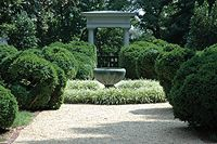 The Textile Museum Garden, DC (the museum too)