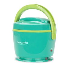 Now you can easily enjoy warm, hearty lunches without leaving your desk! The Crock-Pot® Lunch Crock® Food Warmer is available in trendy colors, like teal & lime. Get yours today. #CrockPot #SlowCooker #LunchCrock