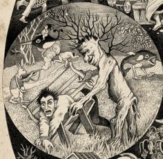 Topsy Turvy World by Sveta Dorosheva, via Behance