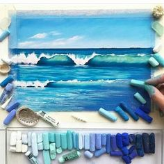 59 ideas beautiful art drawings inspiration artworks chalk pastels for 2019 Chalk Pastel Art, Soft Pastel Art, Pastel Artwork, Chalk Pastels, Chalk Art, Oil Pastels, Oil Pastel Paintings, Oil Pastel Drawings, Drawing With Pastels