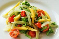 Salada de Chuchu com Manga e Feijão Verde