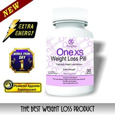 One XS Weight Loss Pills Extra Strength Appetite Suppressant and Fat Burner.  #YoungYou