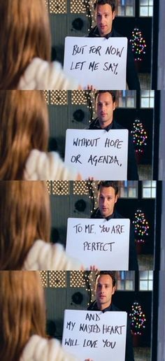 My favourite quote from this movie...Love Actually