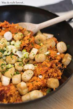 Couscous mit Ajvar