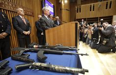 Mayor Bloomberg's gun confiscations conference broke a simple gun safety rule.