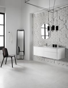 Badezimmer-Ausstattung Kollektion Fluent by INBANI Design Arik Levy ❤️Stil-Fabrik.com❤️