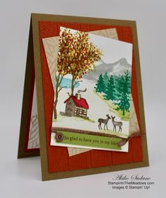Twenty Five Stampin' Up! Projects by Inkin' Krew Featured Stampers – Stamp With Amy K Fall Cards, Winter Cards, Holiday Cards, Christmas Cards, Thanksgiving Cards, Christmas 2019, Friendship Cards, Stampin Up Christmas, Some Cards