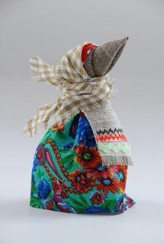 Тряпичная кукла «Каркуша» - Ярмарка Мастеров - ручная работа, handmade