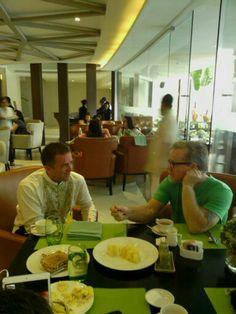 Breakfast with Mr. Freddie Roach world champion boxing coach