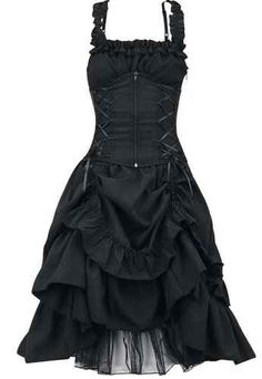 Poizen Industries Gothic Emo Punk Ladies Soul Dress, Gothic Emo Punk Dress | eBay