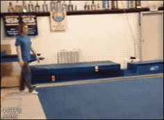 This is why I never attempted gymnastics.  I am dying.