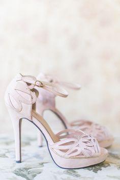 Glamorous Black White Gold Lombardi House Wedding Shoes And