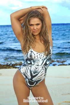 Looks like @RondaRousey will be in the next SI Swimsuit issue ...