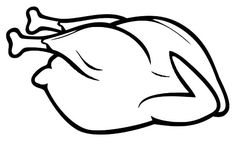 Whole Chicken Before Fried Coloring Pages - Download & Print Online Coloring Pages for Free | Color Nimbus
