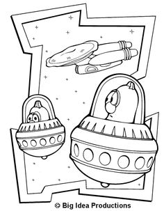 Veggie Tales Coloring Pages 478x615