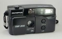 As Minhas Câmaras: Olympus Trip 200 (~1996)