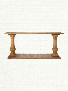 """Hudson 71"""" Rectangle Console Table In Natural Arhaus Furniture, rustic living room family room"""