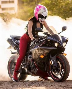 Welcome to the Badass Helmet Store, where we obsessively write, photograph, and talk about all things motorcycle! Badass Motorcycle Helmets, Motorcycle Bike, Motorbike Girl, Motorcycle Girls, Motorcycle Quotes, Lady Biker, Biker Girl, Scooter 50cc, Custom Sport Bikes
