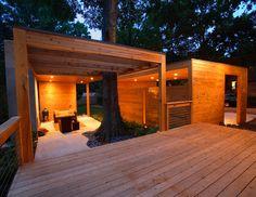 Deck/outdoor living room.