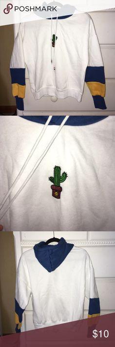 Spotted while shopping on Poshmark: Cactus Sweatshirt! #poshmark #fashion #shopping #style #ROMWE #Tops