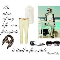 """""""Grace Kelly"""" by styleability on Polyvore"""