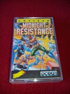 AMSTRAD CPC 464 JUEGO cassette midnight resistance   eBay